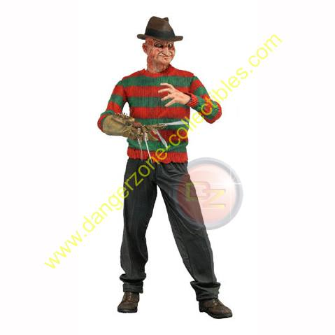 A Nightmare On Elm St Series 4 Power Glove Freddy Figure by NECA