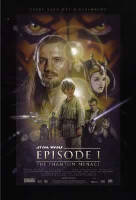 Star Wars Episode I The Phantom Menace Movie Poster