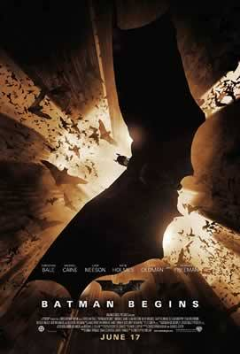 Batman Begins, Christian Bale, Movie Poster