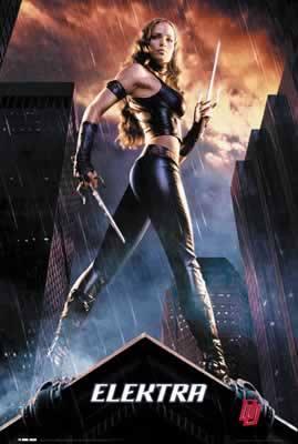 Daredevil Elektra Jennifer Garner Movie Poster