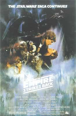 Star Wars Episode V Empire Strikes Back Movie Poster