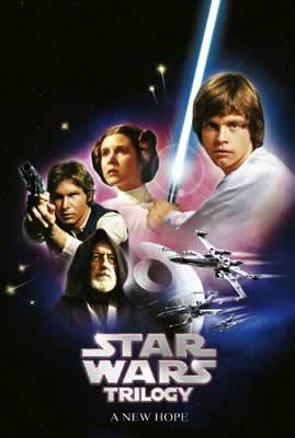 Star Wars Trilogy Episode IV A New Hope Movie Poster