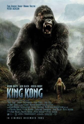 King Kong 2005 Re-Make Movie Poster (A)