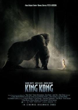 King Kong 2005 Re-Make Movie Poster (B)