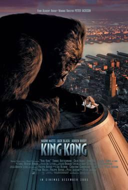 King Kong 2005 Re-Make Movie Poster (C)