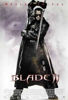 Blade II Wesley Snipes Movie Poster