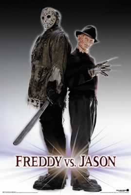 Freddy Krueger Vs Jason Voorhees Movie Poster Dangerzone