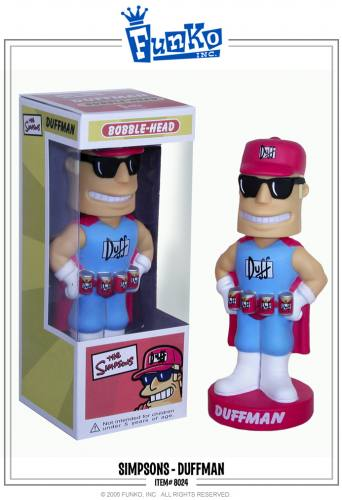 The Simpsons Duffman Bobble Head Knocker by FUNKO