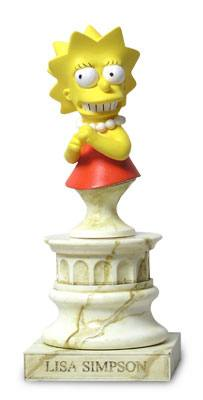 The Simpsons Lisa Simpson Mini Bust by Sideshow Collectibles