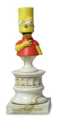 The Simpsons Bart Simpson Mini Bust by Sideshow Collectibles