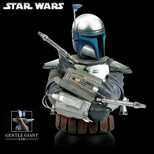 Star Wars Jango Fett Mini Bust by Gentle Giant.