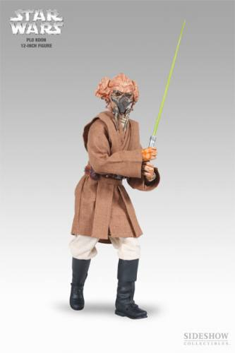 Star Wars Plo Koon Figure by Sideshow Collectibles