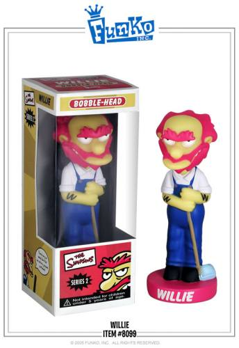 The Simpsons Groundskeeper Willie Bobble Head Knocker by FUNKO