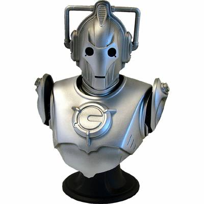 Dr Who Cyberman Mini Bust by Cards Inc