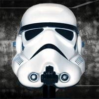 Star Wars Scaled Replica Stormtrooper Helmet by Master Replicas.