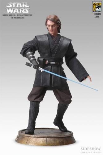 Star Wars Darth Vader - Sith Apprentice Figure by Sideshow Collectibles.