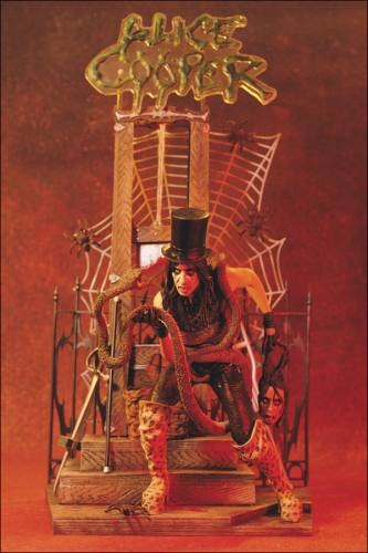 Alice Cooper Figure by McFarlane.