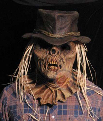 Scarecrow Zombie Mask by Bump In The Night Productions.