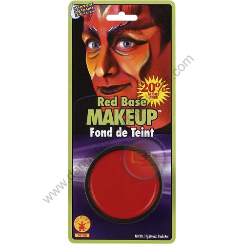 Special F/X Theatrical Base Grease Paint Red by Rubie's.
