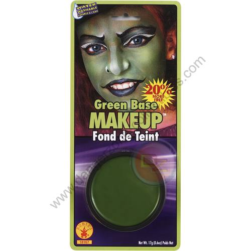 Special F/X Theatrical Base Grease Paint Green by Rubie's.