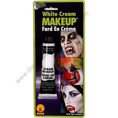 Special F/X Theatrical Base Cream Paint White by Rubie's.