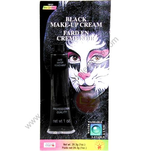 Special F/X Theatrical Base Cream Paint Black by Rubie's.
