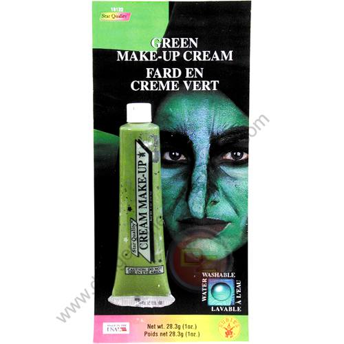 Special F/X Theatrical Base Cream Paint Green by Rubie's.