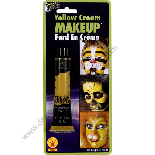 Special F/X Theatrical Base Cream Paint Yellow by Rubie's.