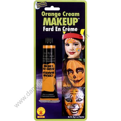 Special F/X Theatrical Base Cream Paint Orange by Rubie's.