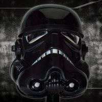 Star Wars Scaled Shadowtrooper Helmet by Master Replicas.