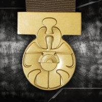 Star Wars Scaled Replica Medal Of Yavin by Master Replicas.