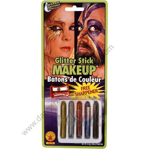 Special F/X Theatrical Paint Glitter Sticks by Rubie's.