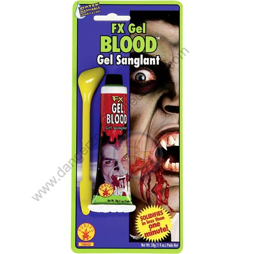 Special F/X Theatrical Blood Gel by Rubie's.