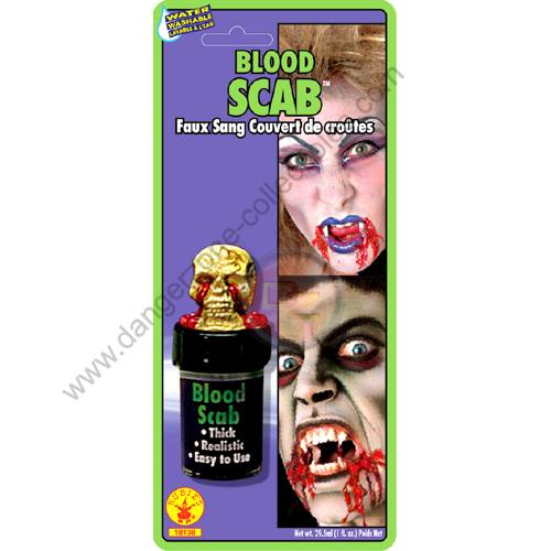 Special F/X Theatrical Blood Scab by Rubie's.