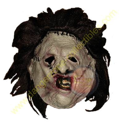 Texas Chainsaw Massacre Deluxe Adult Leatherface Mask by Rubies