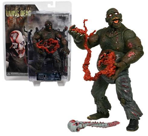 Attack Of The Living Dead Earl Phase 1 Colour Figure by MEZCO.