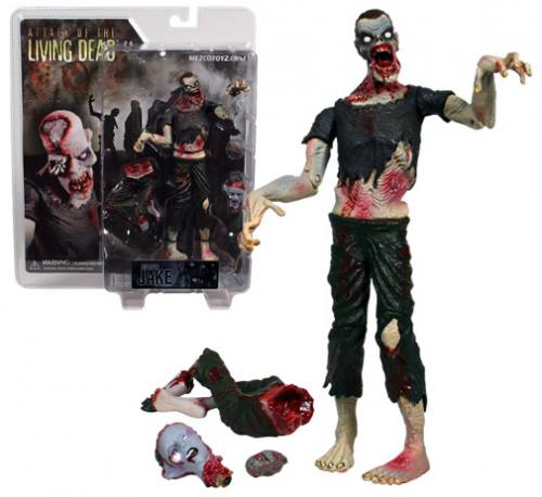 Attack Of The Living Dead Jake Phase 2 Pale Figure by MEZCO.