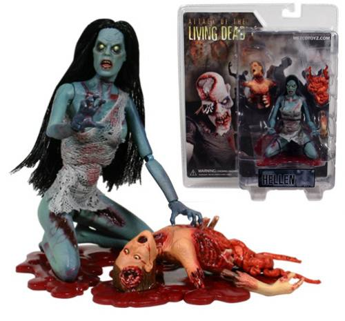 Attack Of The Living Dead Hellen Phase 1 Colour Figure by MEZCO.