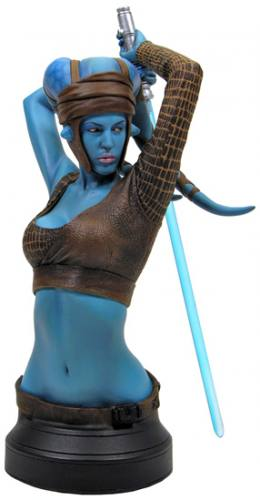 Star Wars Aayla Secura Mini Bust by Gentle Giant.