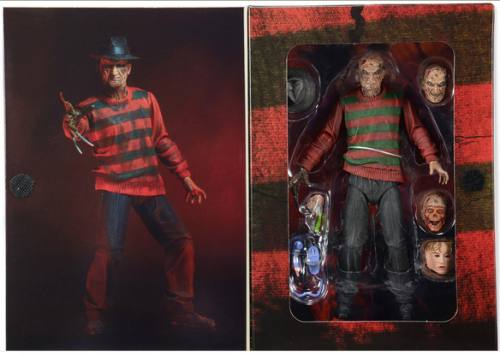 A Nightmare On Elm Street Part 1 Ultimate Freddy Action Figure by NECA