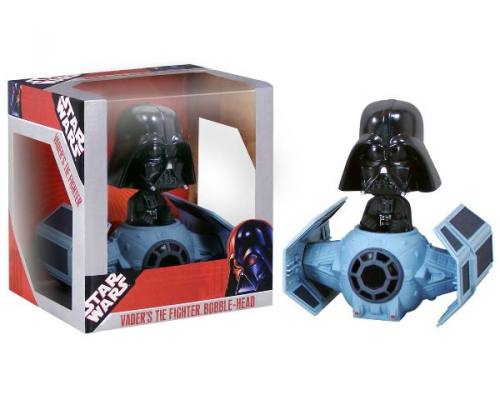 Star Wars Darth Vader & Tie Fighter Bobble Head Knocker by FUNKO
