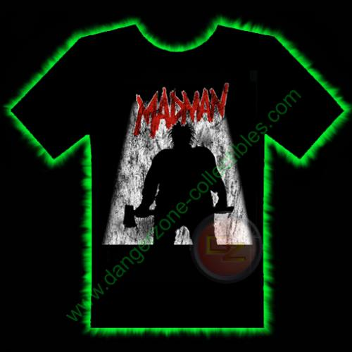 Madman Horror T-Shirt by Fright Rags - MEDIUM
