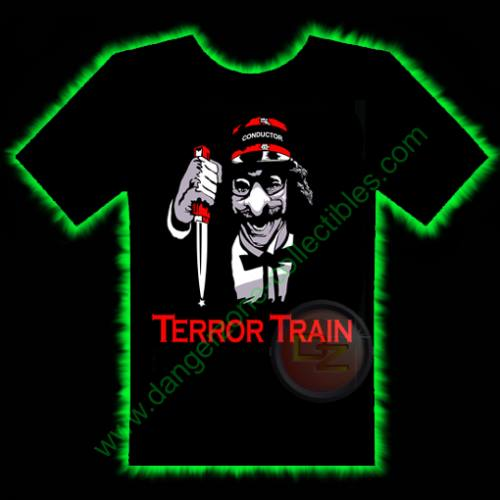 Terror Train Horror T-Shirt by Fright Rags - LARGE
