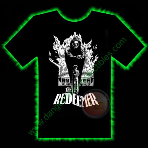 The Redeemer Horror T-Shirt by Fright Rags - LARGE