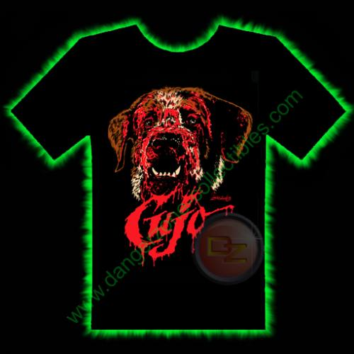 Cujo Horror T-Shirt by Fright Rags - EXTRA LARGE