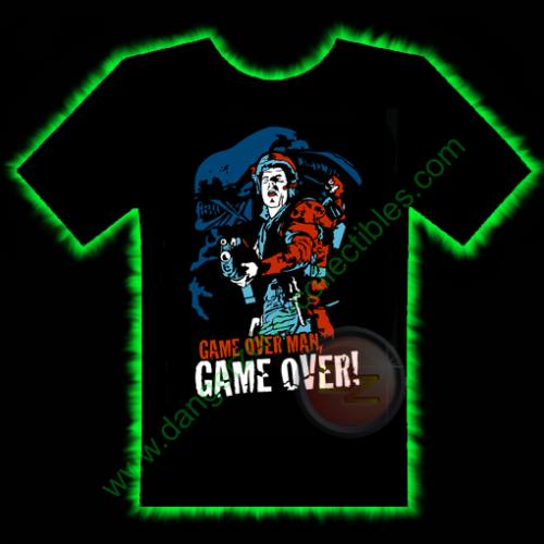 Game Over Alien Horror T-Shirt by Fright Rags - SMALL