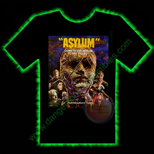 Asylum Horror T-Shirt by Fright Rags - SMALL
