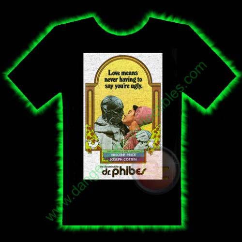 Dr Phibes Horror T-Shirt by Fright Rags - SMALL