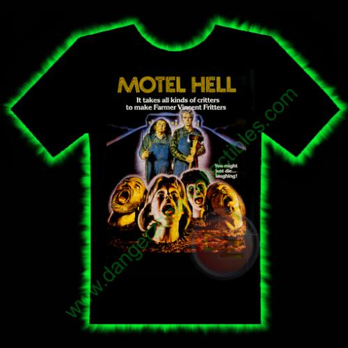 Motel Hell Horror T-Shirt by Fright Rags - SMALL