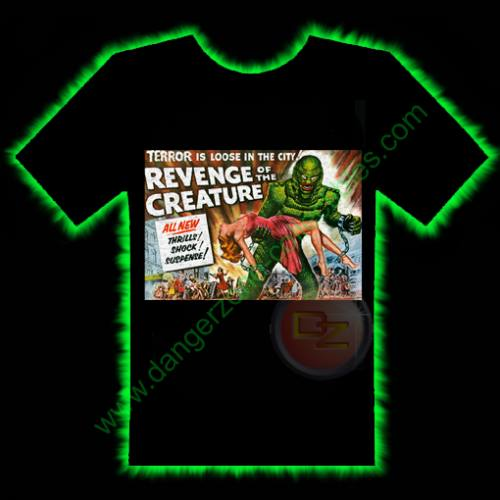 Revenge Of The Creature Horror T-Shirt by Fright Rags - SMALL